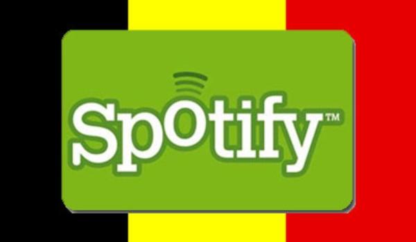 Spotify nu ook in België