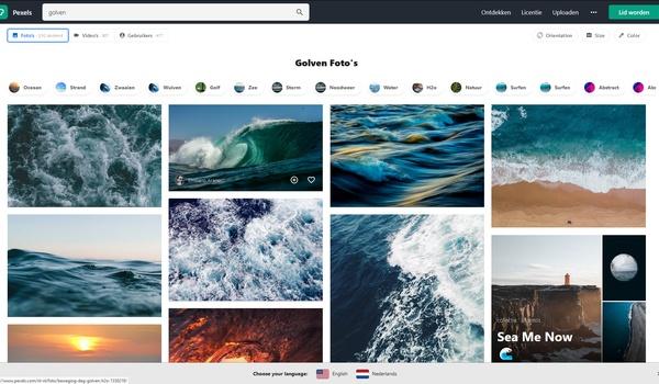 Pexels - Gratis afbeeldingen