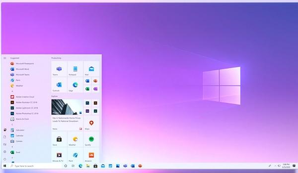 Microsoft toont nieuw startmenu Windows 10