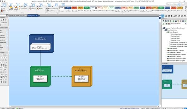 Software Ideas Modeler - Voor diagrammen en infographics