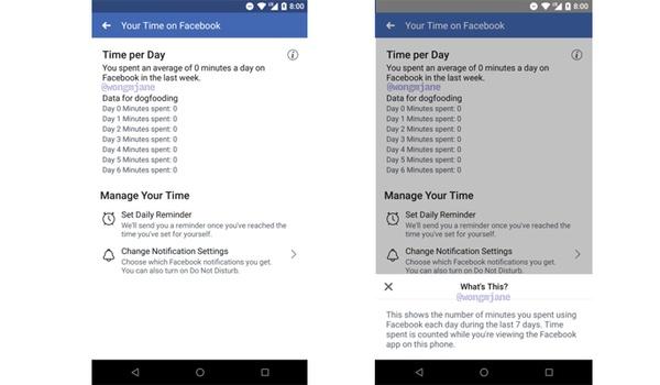 Facebook toont straks hoeveel tijd je er aan spendeert