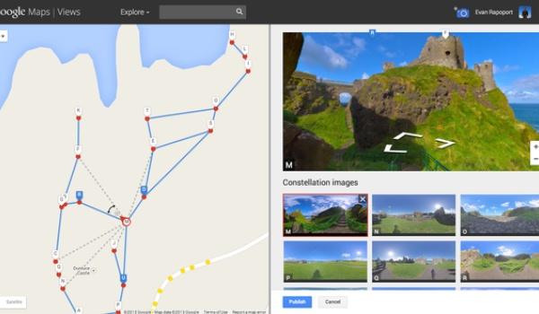 Maak je eigen Street View met Google Maps