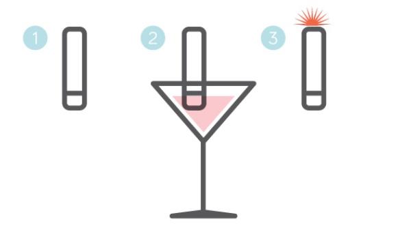Gadget detecteert drugs in je drankje