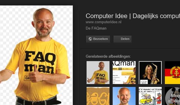 Google verwijdert knop voor weergeven afbeeldingen in zoekresultaten