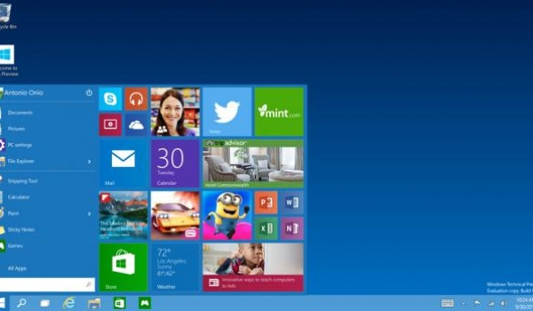 'Windows 10 komt in januari als consumenten-preview'