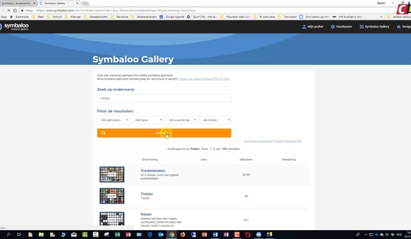 Symbaloo Gallery