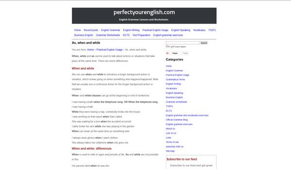 Perfect your English - Vergroot je kennis van het Engels