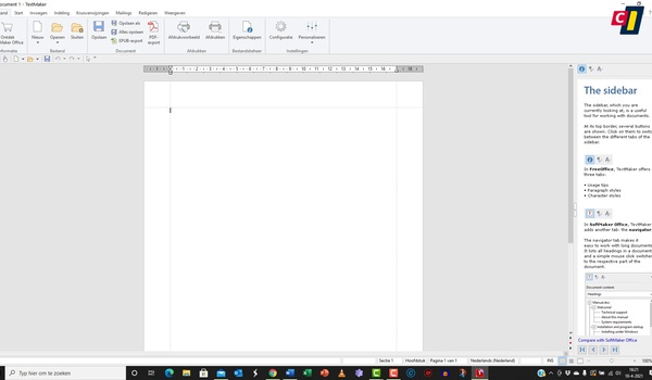 Free Office: TextMaker