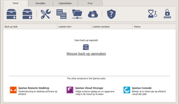 Backup Free - Een uitgebreid Nederlandstalig backup-programma