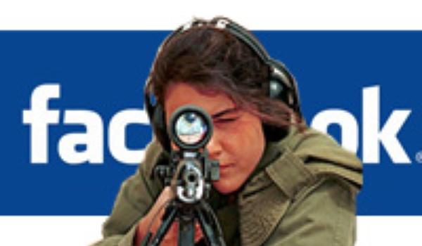 Door Facebook toch nog het leger in