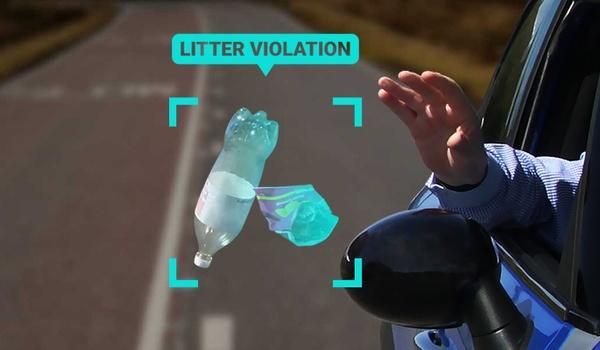 Boete voor milieuvervuilers door slimme verkeerscamera's