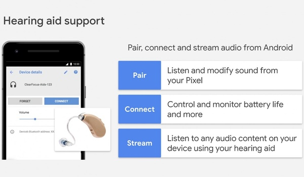 Straks kun je je gehoorapparaat verbinden met je Android-smartphone