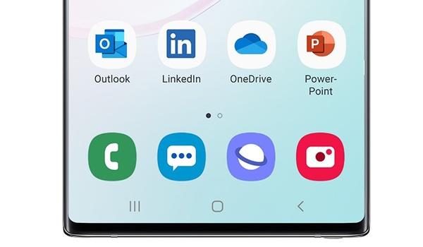 Microsoft vindt nieuw thuis op Samsung-smartphones