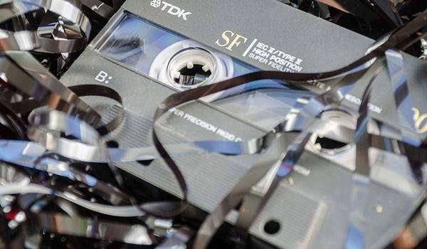 Cassettebandjes vinden weer gretig aftrek