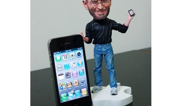 Steve Jobs als speelgoedpoppetje