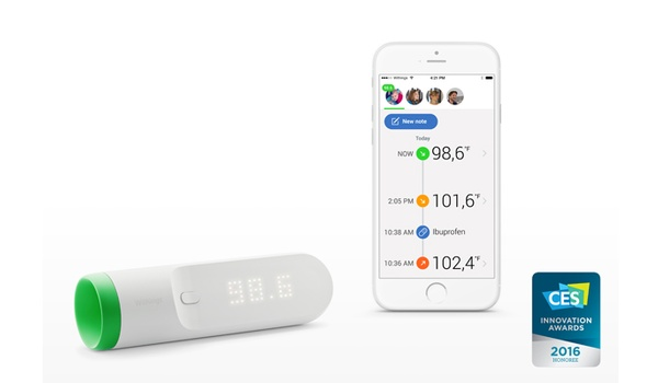 Withings Thermo is slimme thermometer