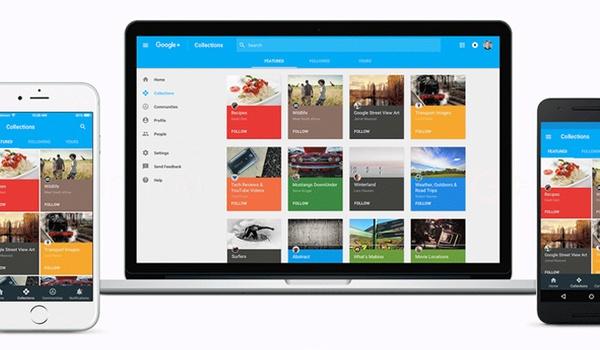 Google Plus op de schop met nieuw design