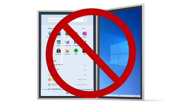 Gerucht: Microsoft zet streep door Windows 10X