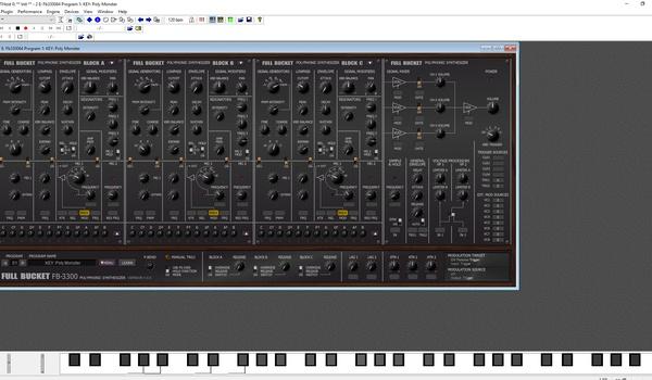 FB-3300 - Een van de mooiste synthesizers uit de seventies