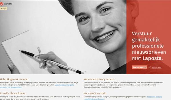 Laposta - Stuur gratis nieuwsbrieven naar maximaal 2000 relaties