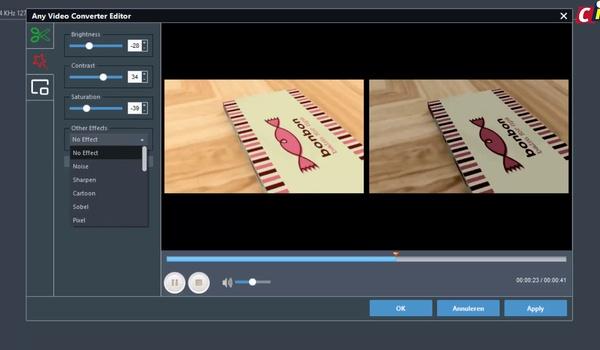Video bewerken met AVC