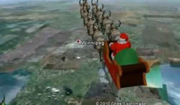 Google Maps: Volg de Kerstman!