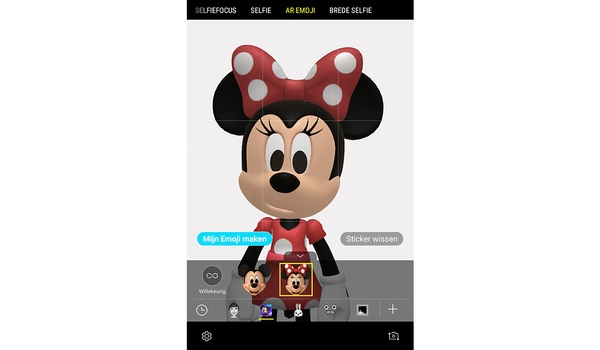 Samsung Galaxy S9 en S9 Plus krijgen Disney animoji