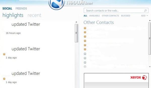 Screenshots Windows Live Messenger 2010 uitgelekt