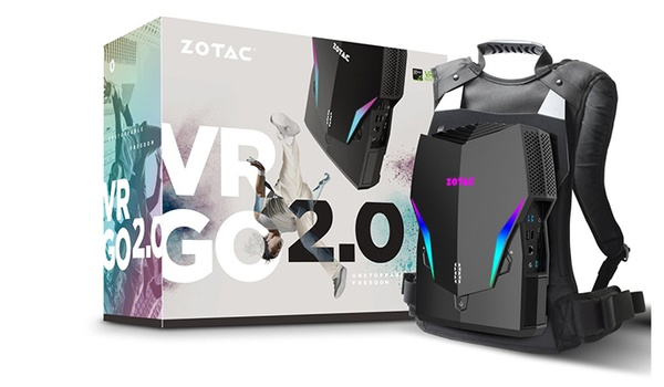 Upgrade voor virtual reality-rugzak Zotac