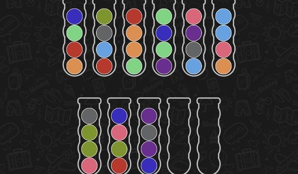 Ball Sort Puzzle - Op kleur sorteren