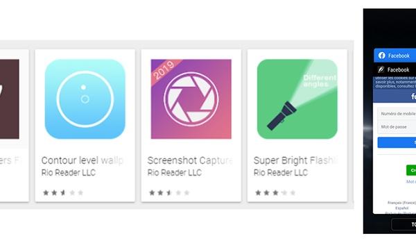 Malafide Android-apps onderschepten Facebook-wachtwoorden