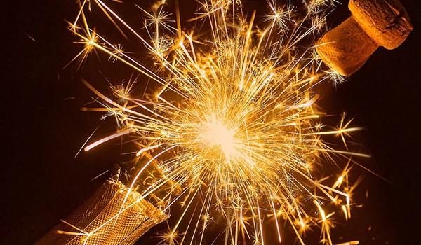 Nieuwjaarswensen massaal digitaal gedeeld