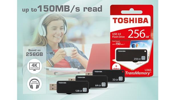 Toshiba TransMemory U365-sticks: omvangrijk en compact