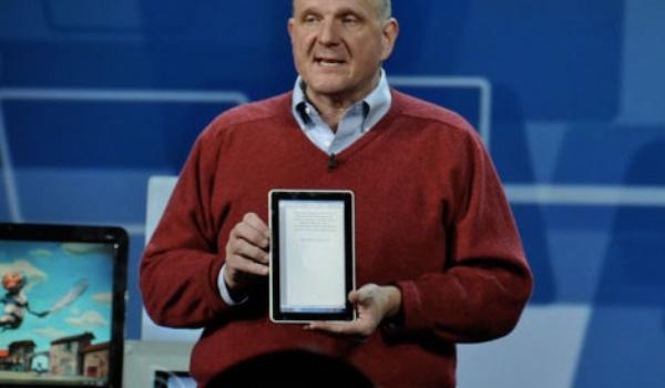 Microsoft probeert het mogelijk weer met tablets