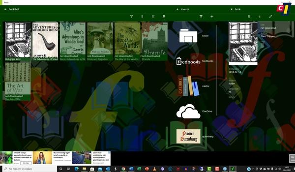 Windows Store: Epub-lezer Freda