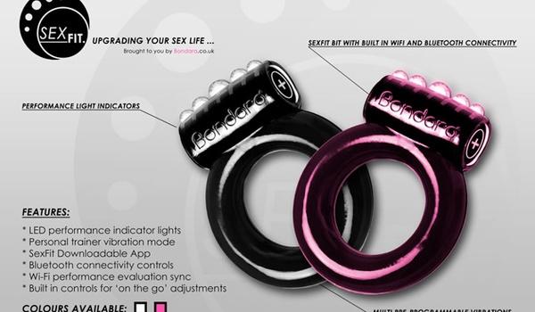 SexFit-gadget meet bedprestaties via bluetooth