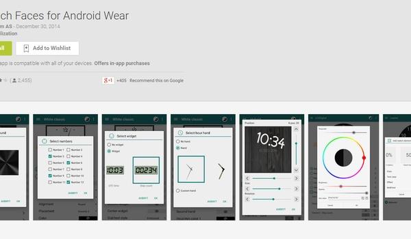 Smartwatch-wijzerplaten maken met Intellicom Watch Faces