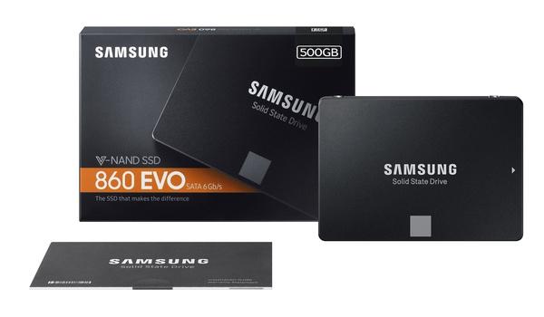 Review: Samsung 860 EVO-ssd