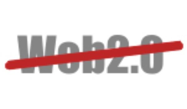 Bedenker term 'Web 2.0' claimt exclusief gebruik