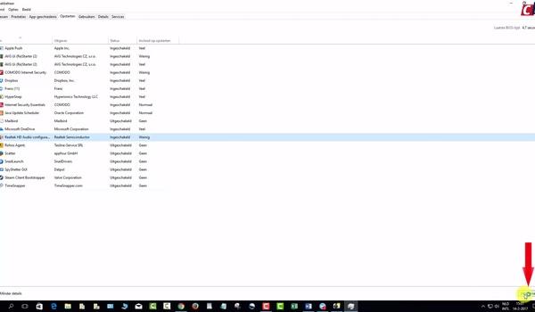 Windows 10 versnellen