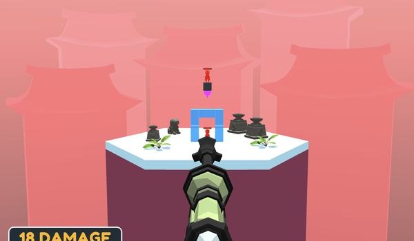 Super Sniper - Spelletje à la Angry Birds