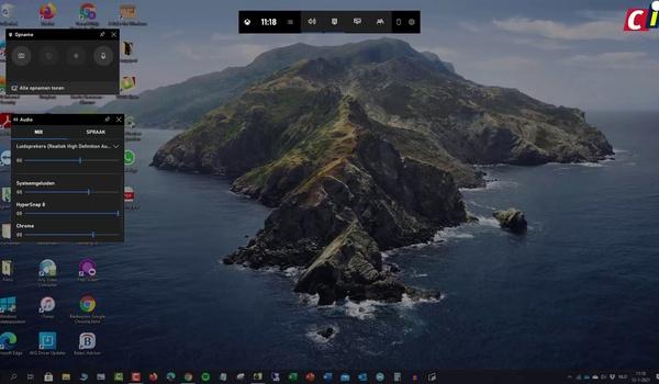 Windows 10: screencast maken met de Game Bar