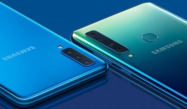 Smartphone met vier camera's: De Samsung Galaxy A9