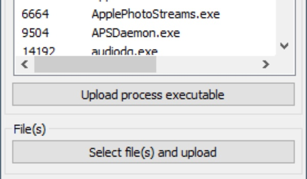 VirusTotal Uploader - Downloads scannen
