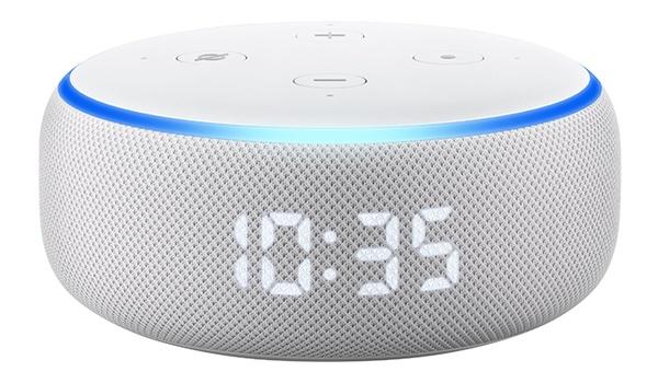 Nieuwe Amazon Echo Dot is tevens klok