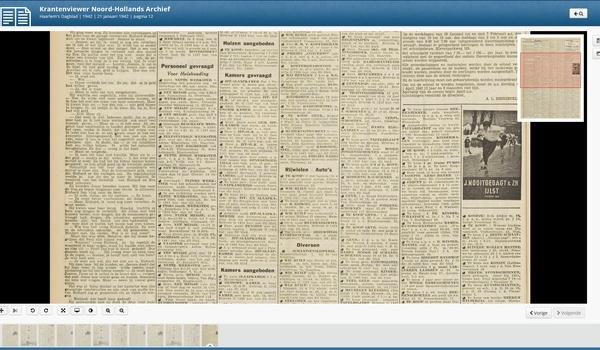 Noord Hollands Archief - Een schitterende collectie oude kranten