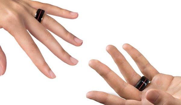Slimme HB Ring toont hartslag partner