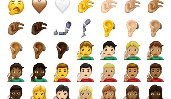 59 nieuwe emoji gepresenteerd