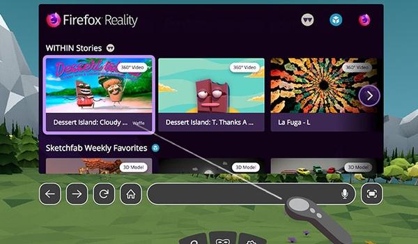 Firefox Reality is browser voor vr-brillen