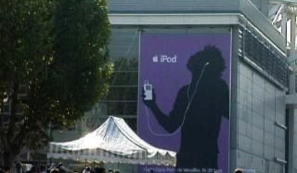 iPodders verzamelen in de RAI